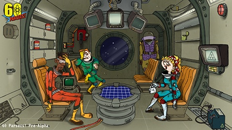 why robot gentleman has headed to space for 60 parsecs pc games