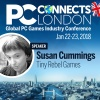 PC Connects London 2018: Meet the Speakers - Susan Cummings, Tiny Rebel Games