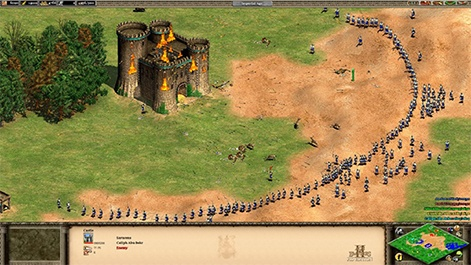 Age of Empires combined the RTS gameplay of titles like Warcraft and  Command and Conquer with the historical themes of the Civilization series