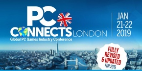 Free entry to PC Connects London 2019 logo