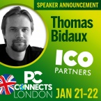 PC Connects London 2019 - Meet the Speakers - Thomas Bidaux, Ico Partners