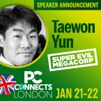PC Connects London 2019 - Meet the Speakers - Taewon Yun, Super Evil MegaCorp