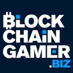 Blockchain game news and insights logo