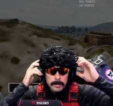 Streamers DrDisrespect and Shroud receive PUBG skins after threatening to stop playing game