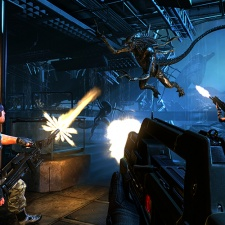 A typo sort of crippled Aliens: Colonials Marines' AI