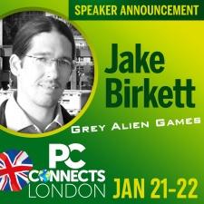 PC Connects London 2019 - Meet the Speakers - Jake Birkett, Grey Alien Games