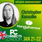 PC Connects London 2019 - Meet the Speakers - Christopher Kassulke, Handy Games