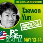 PC Connects Seattle 2019 - Meet the Speakers - Taewon Yun, Super Evil Megacorp