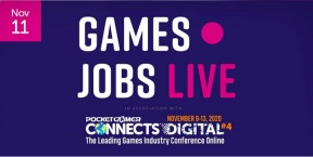 Games Jobs Live @ Pocket Gamer Connects Digital #4 (Online)