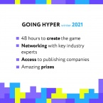 GOING HYPER WINTER 2021: Online Hyper Casual Game Jam (Online)